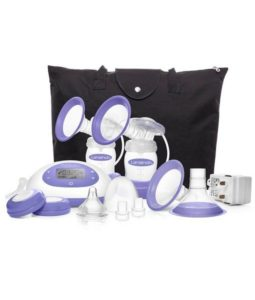 Lansinoh-Signature-Pro-Portable-Double-Electric-Breast-Pump-with-LCD-Screen